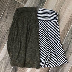 Merona yoga-style skirts
